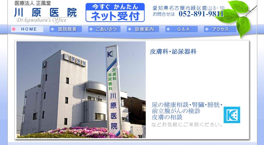 川原医院のスクリーンショット画像